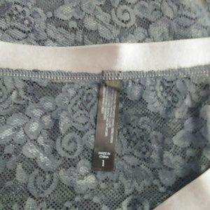 torrid Intimates & Sleepwear - NWOT Torrid High Waist Lace Cheeky Panty